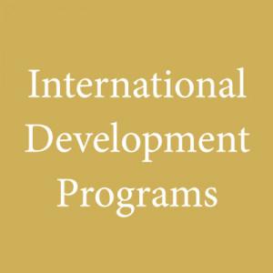 International Development Programs